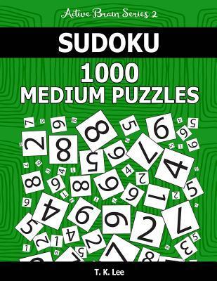 Sudoku 1,000 Medium Puzzles