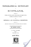 Topographical Dictionary of Scotland
