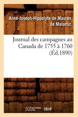 Journal des Campagnes au Canada de 1755 a 1760 (ed.1890)