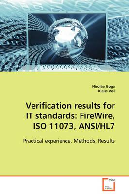 Verification Results for It Standards