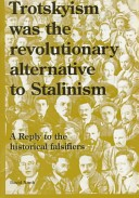 Trotskyism was the revolutionary alternative to Stalinism