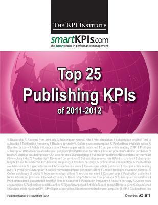 Top 25 Publishing Kpis of 2011-2012