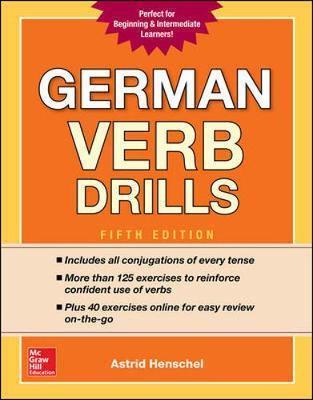 German Verb Drills, Fifth Edition