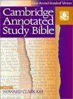 NRSV Cambridge Annotated Study Bible Hardback with jacket NR340