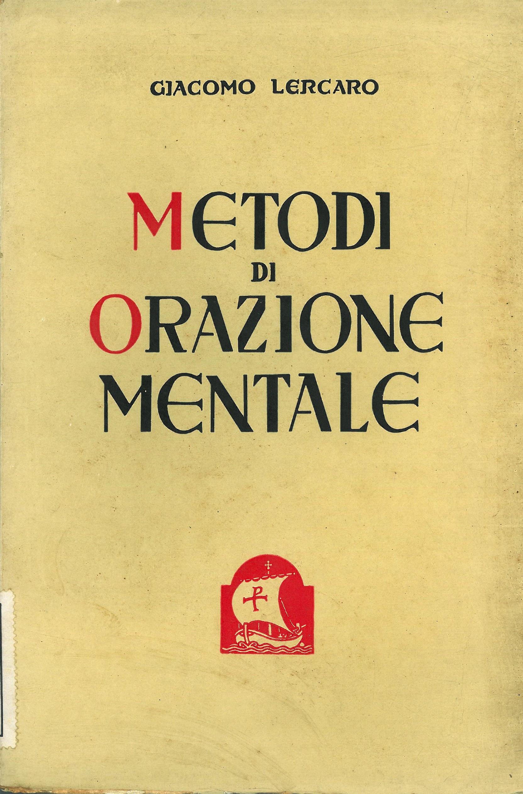 Metodi di orazione mentale