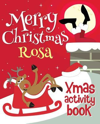 Merry Christmas Rosa - Xmas Activity Book