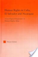 Human Rights in Cuba, El Salvador, and Nicaragua