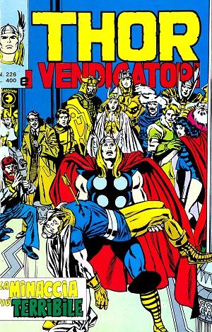Thor e i Vendicatori (Il Mitico Thor) n. 226