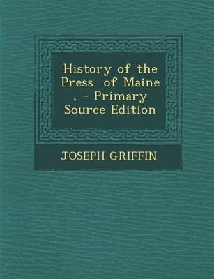History of the Press of Maine,