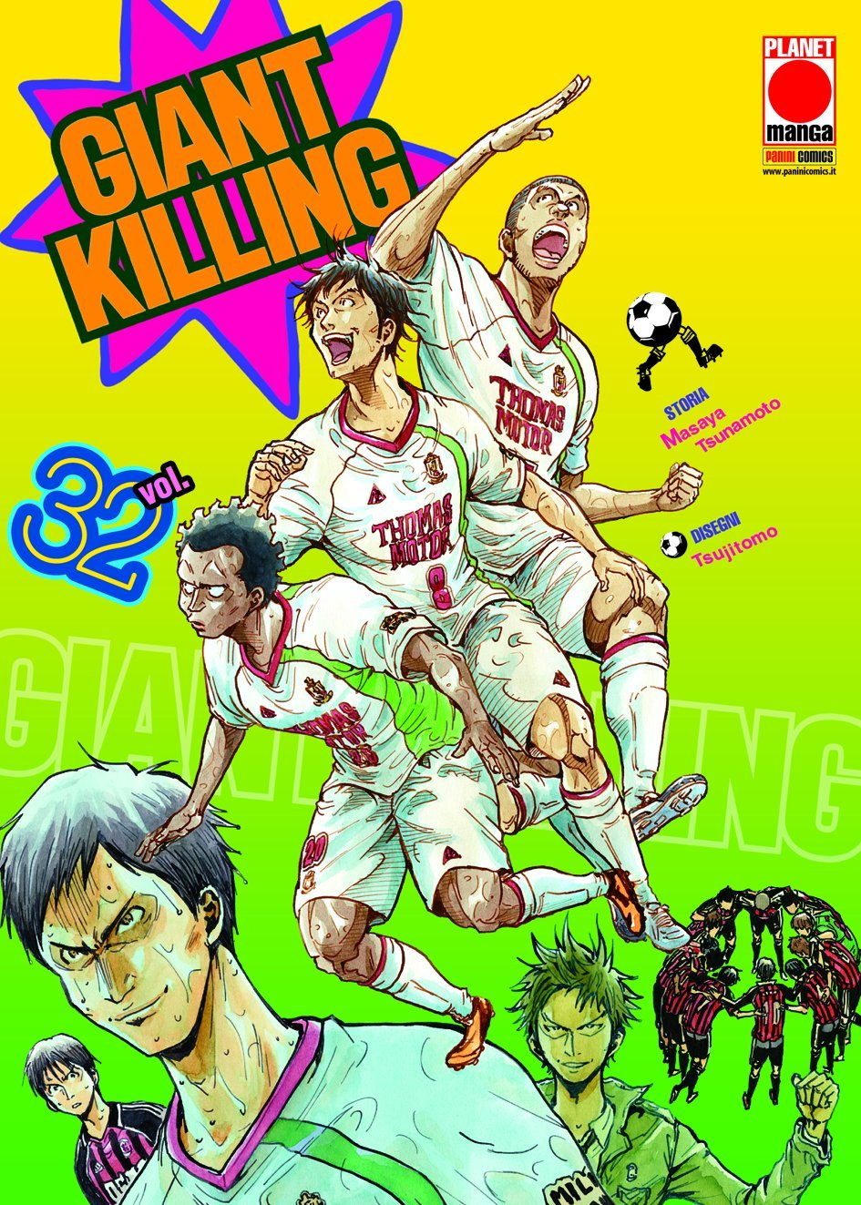 Giant Killing vol. 32