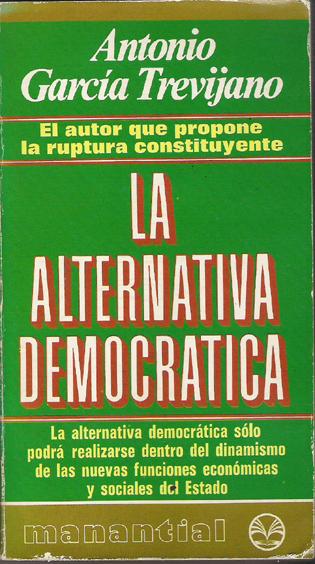 La alternativa democrática