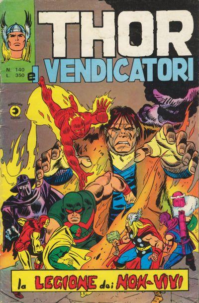 Thor e i Vendicatori (Il Mitico Thor) n. 140