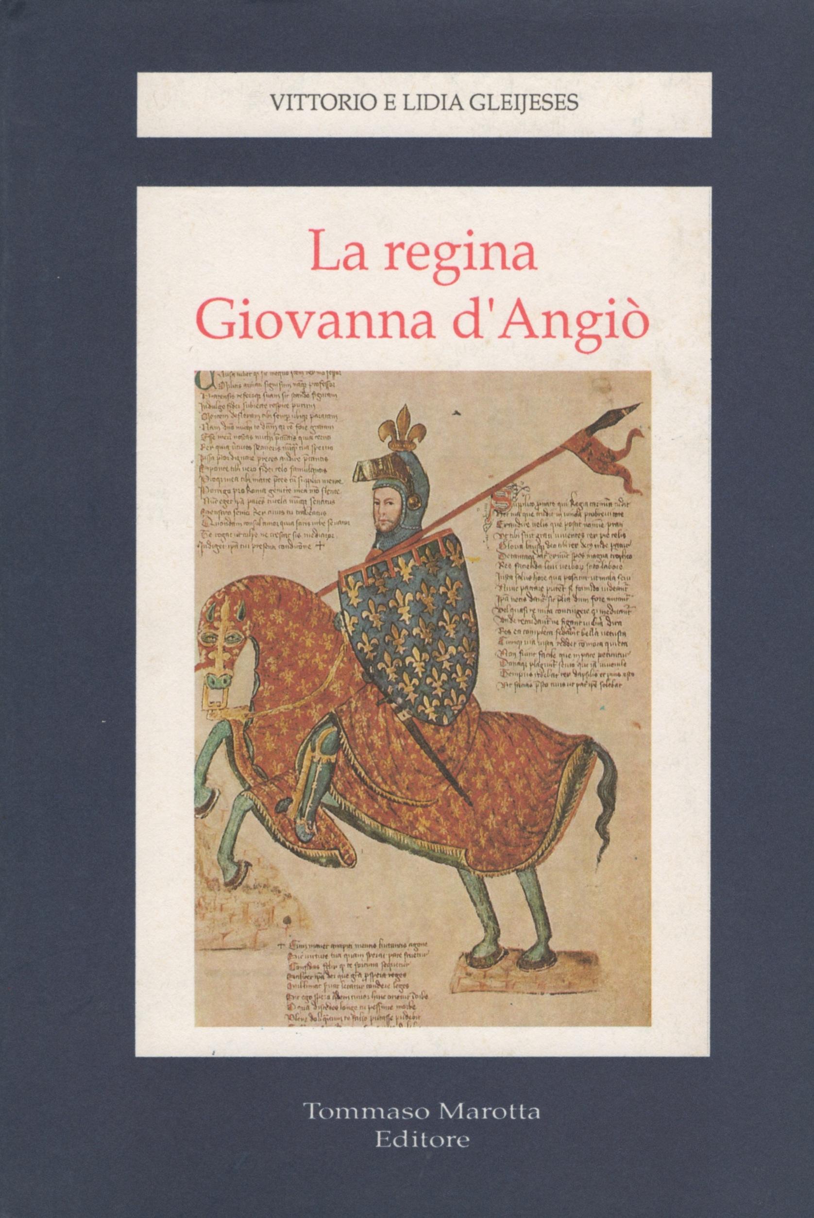 La regina Giovanna d'Angiò