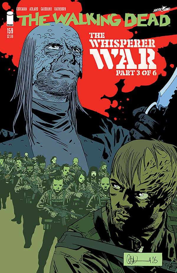 The Walking Dead #15...