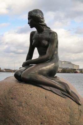 A Little Mermaid Statue in Copenhagen Denmark Journal