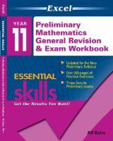 Preliminary Mathematics General