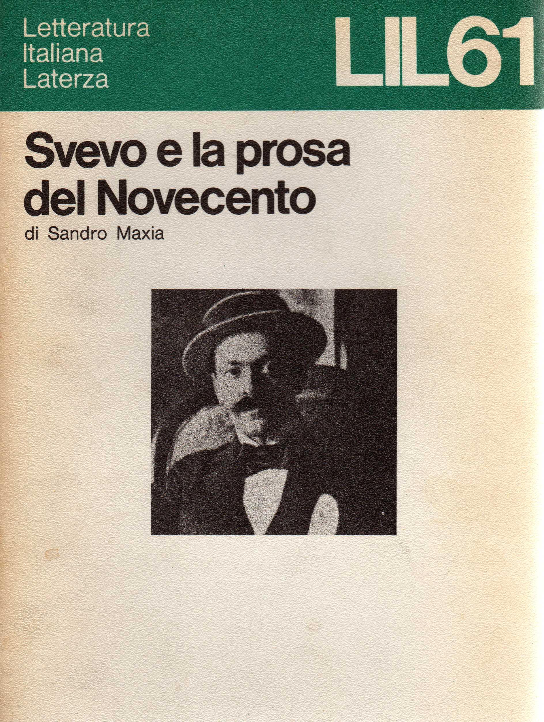 Svevo e la prosa del Novecento
