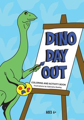 Dino Day Out Coloring & Activity Book
