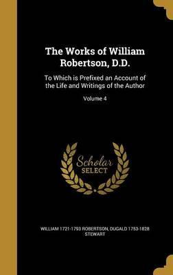 WORKS OF WILLIAM ROBERTSON DD