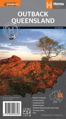 Queensland Outback GPS r/v hema scale