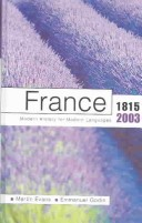 France 1815-2003