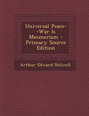 Universal Peace--War...