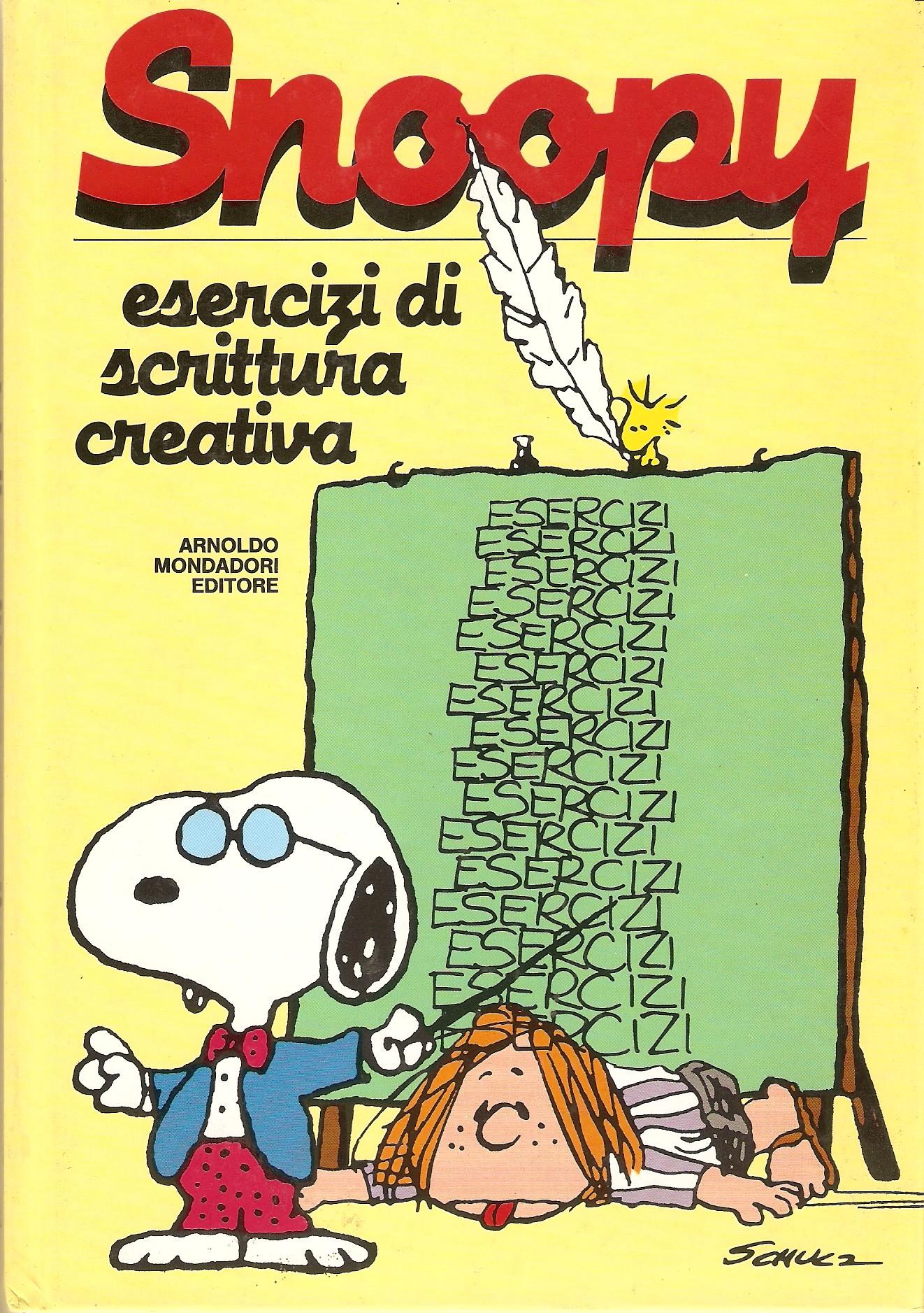 Snoopy esercizi di scrittura creativa