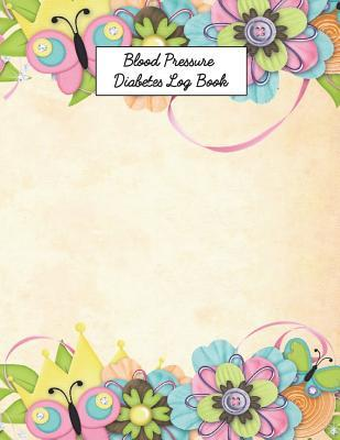Blood Pressure Diabetes Log Book