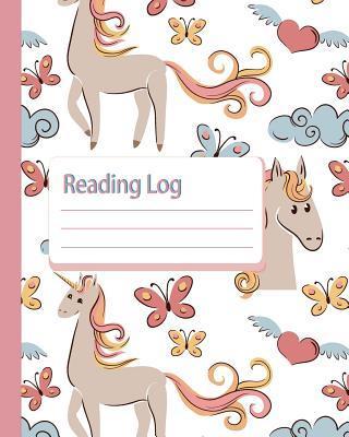 Reading Log, Unicorn Cover