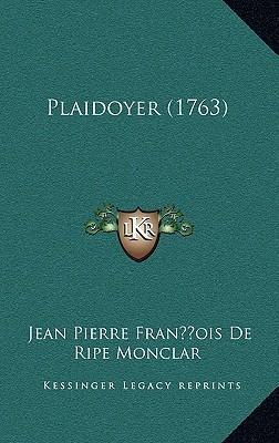 Plaidoyer (1763)