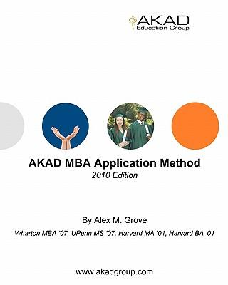Akad MBA Application Method 2010