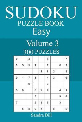 300 Easy Sudoku Puzzle Book