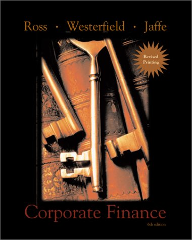 Corporate Finance, International Edition