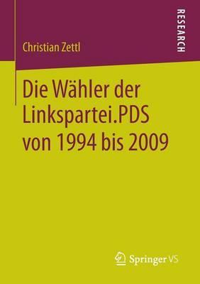 Die Wähler Der Linkspartei.pds Von 1994 Bis 2009