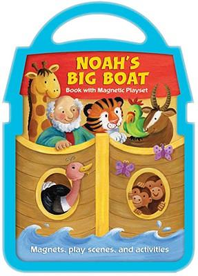 Noah's Big Boat Book with Magnetic Playset