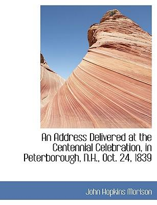 An Address Delivered...