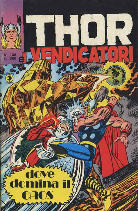 Thor e i Vendicatori (Il Mitico Thor) n. 126