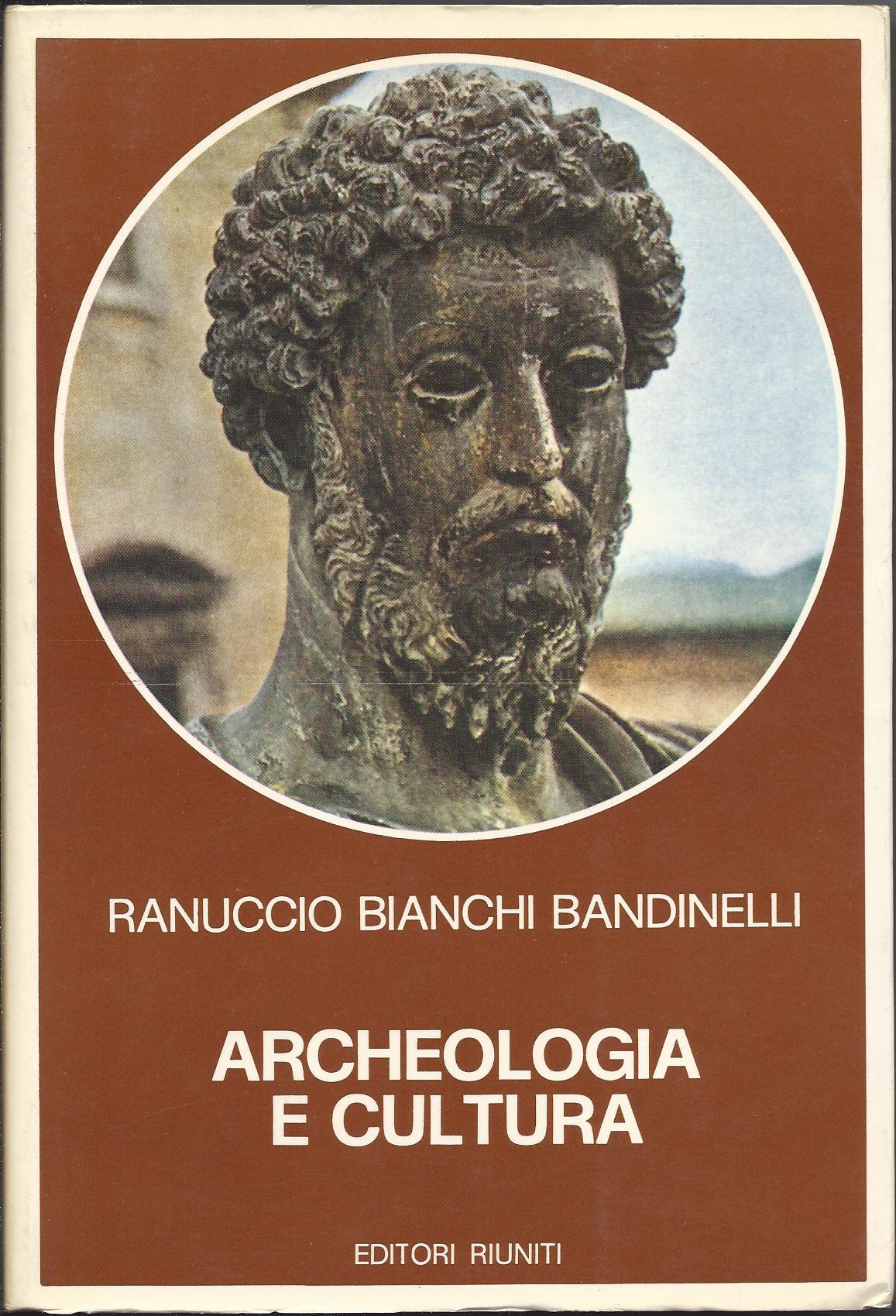 Archeologia e cultur...