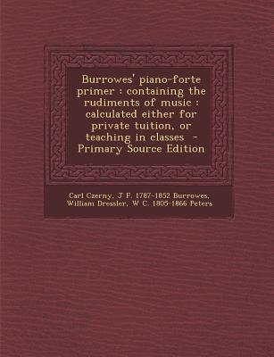 Burrowes' Piano-Forte Primer
