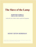 The Slave of the Lamp (Webster's Korean Thesaurus Edition)