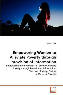 Empowering Women to Alleviate Poverty through provision of Information