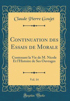 Continuation des Essais de Morale, Vol. 14