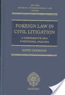 Foreign Law in Civil Litigation