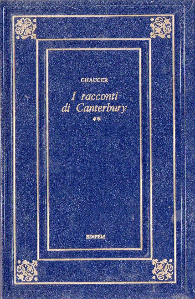 I racconti di Canterbury (volume secondo)