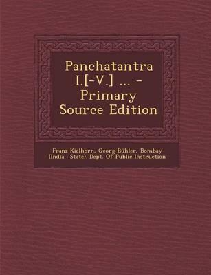 Panchatantra I.[-V.]...