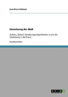 Umsetzung der MaK