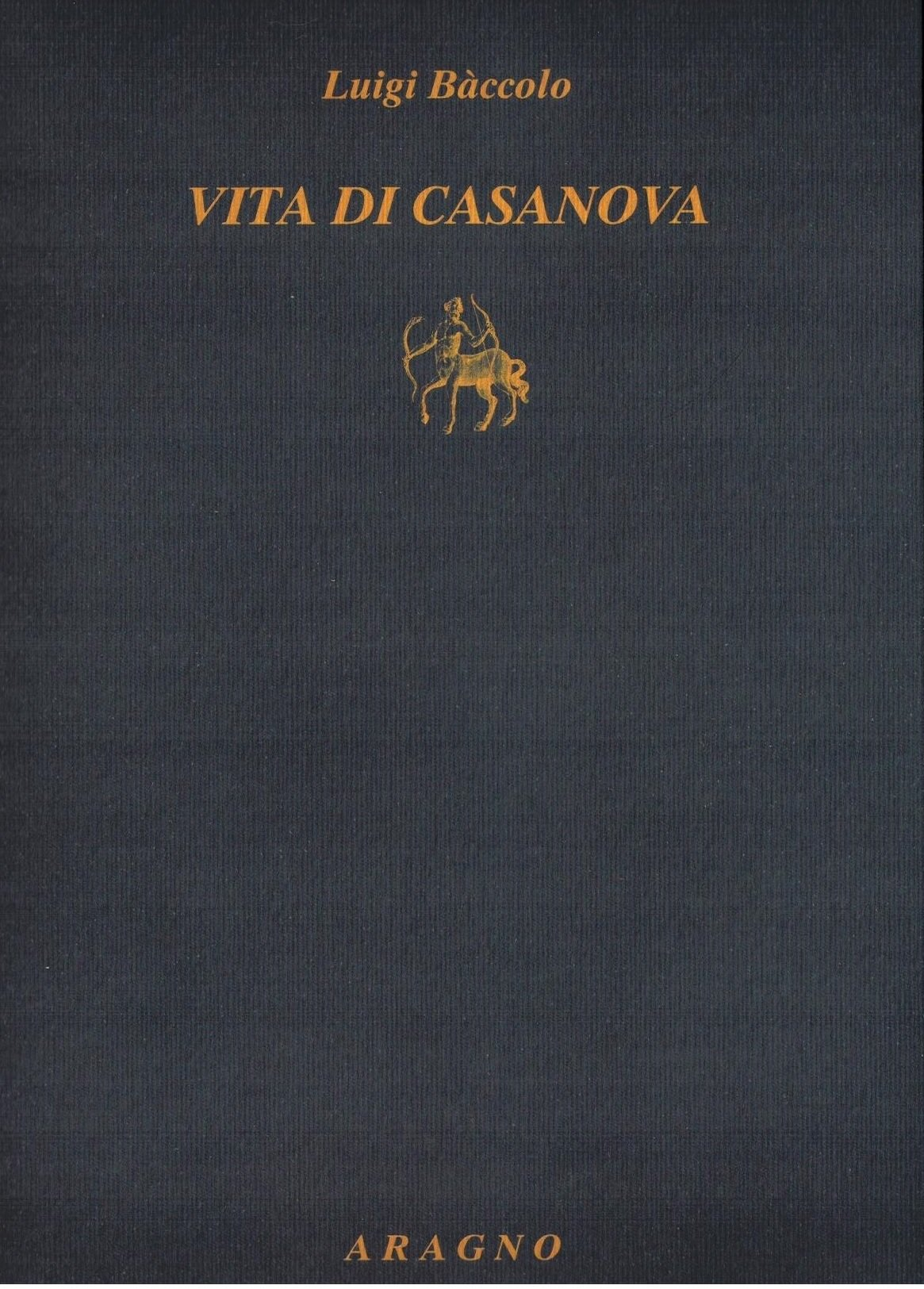Vita di Casanova