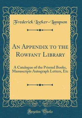 An Appendix to the R...