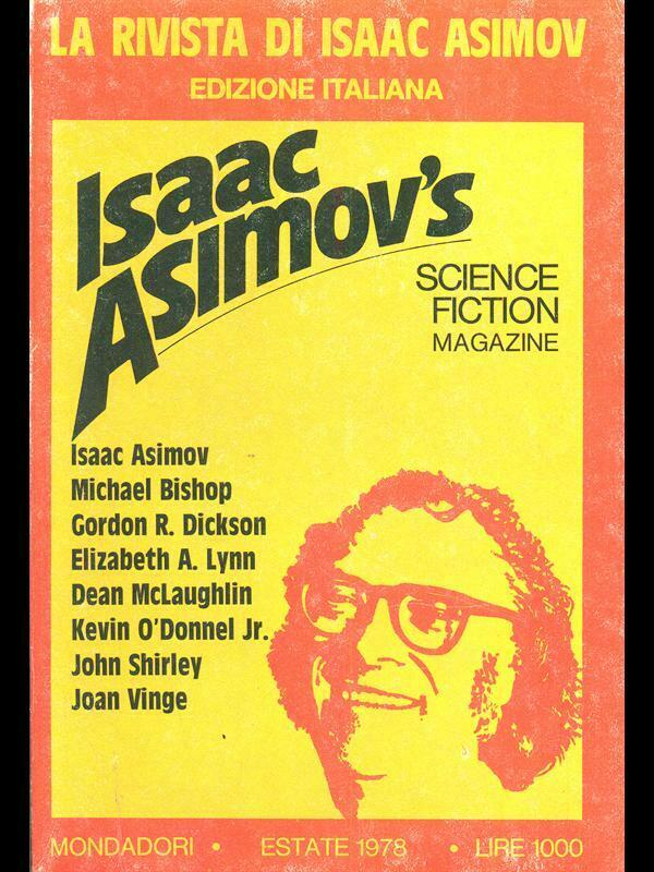 La rivista di Isaac Asimov n. 02