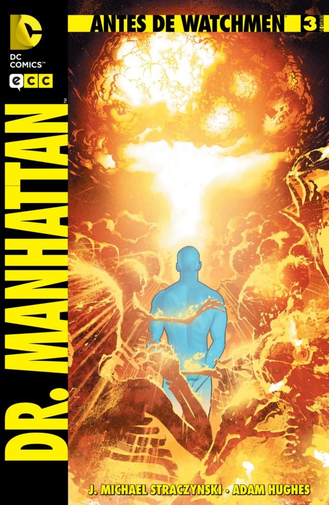 Antes de Watchmen: Dr. Manhattan #3 (de 4)
